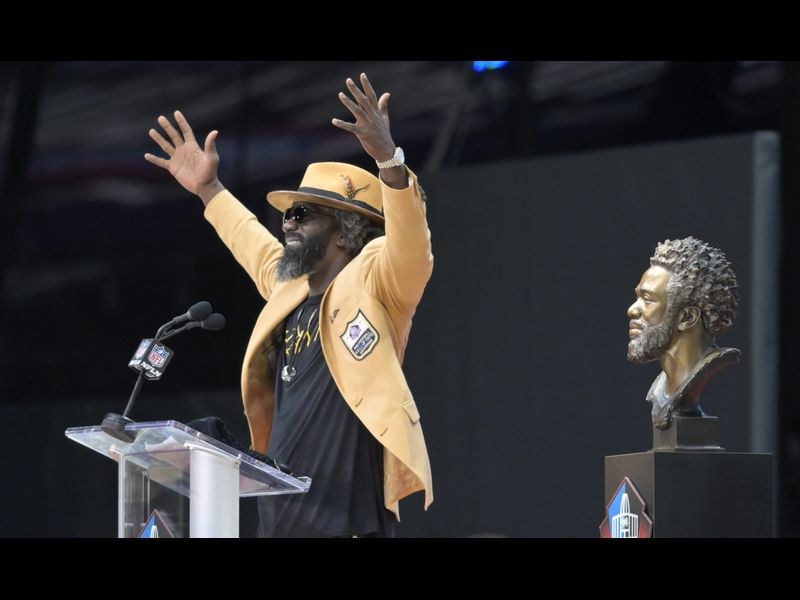 online retailer 6e1eb 8cc73 Baltimore, I love that city': Ed Reed becomes third ...