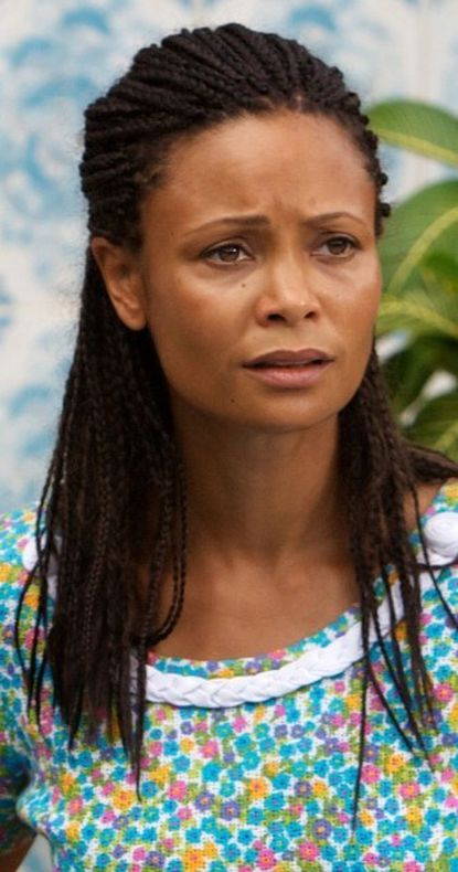 In Half of a Yellow Sun Thandie Newton plays Olanna, a wealthy Nigerian swept up in the violence of the Biafran War.