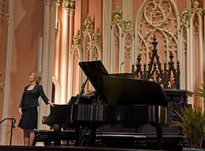 Classical pianist Lura Johnson will stream free concerts from her Baltimore home during the coronavirus epidemic.