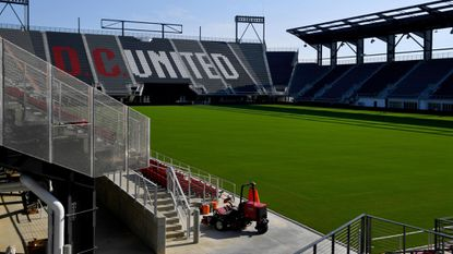 The new Audi Field is the home of D.C. United.