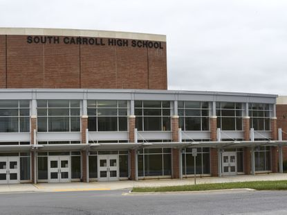South Carroll High School put on lockdown after slick prank