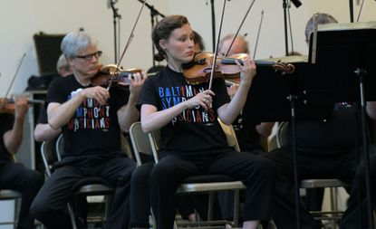 """Baltimore Symphony Musicians perform at the Oregon Ridge Park """"Independence Day Extravaganza."""" The event is presented by Baltimore County."""