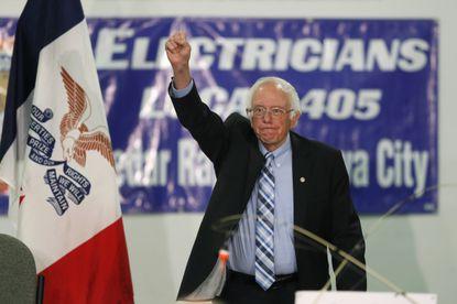 Socialists like presidential candidate Bernie Sanders appeal to voters' emotions.