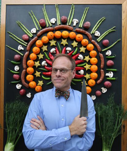 Alton Brown is coming back to Baltimore