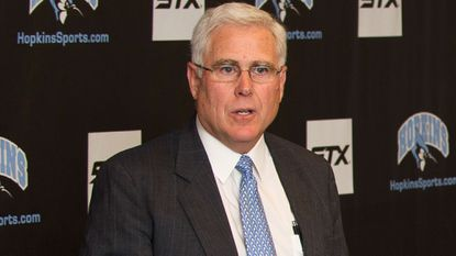 Tom Calder, pictured, stepped down as Johns Hopkins athletic director on Jan. 28, 2016, and will assume a role in development and alumni relations at the school. Calder has been AD for 21 years.