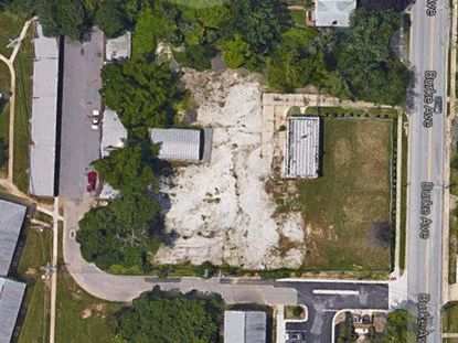 This image from Google Maps provides an aerial view of the property in Towson Baltimore City might sell.
