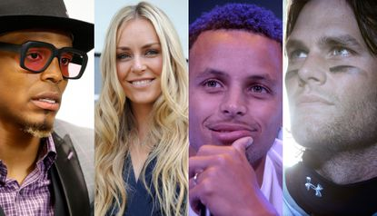 Cam Newton, Lindsey Vonn, Steph Curry and Tom Brady are among Under Armour's marquee athletes.