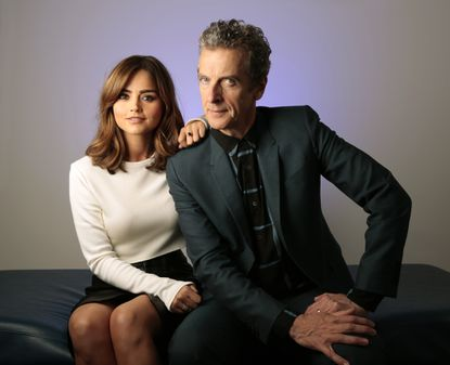 Peter Capaldi strikes a confident note as he takes on 'Doctor Who'