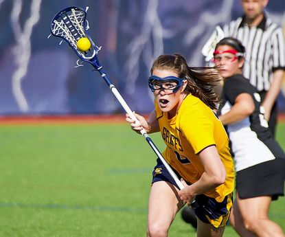 Morgan Leonard ended her career with Canisius Saturday in the IWLCA/Under Armour All-Star Game.