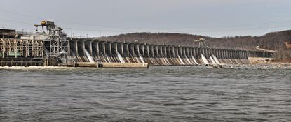 A new 50-year license for the Conowingo Dam got key federal approval in March, but environmental groups say the agreement is a missed opportunity to compel Exelon, which runs the dam, to do more to stop pollutants flowing down the Susquehanna River and into the Chesapeake Bay. (Kenneth K. Lam/Baltimore Sun).