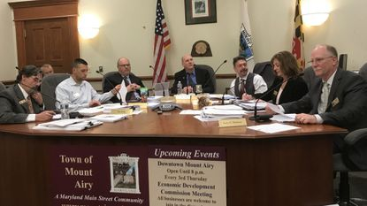 Mount Airy Town Council delays Dorseytown decision, votes to allow provisional ballots in town elections