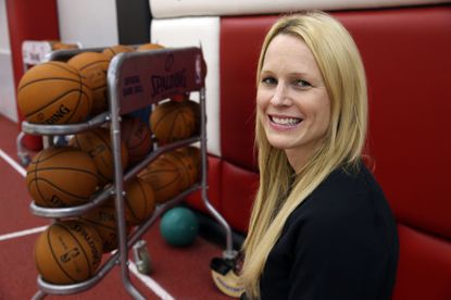 Chicago Bulls director of sports performance Jen Swanson at the Berto Center in 2013.