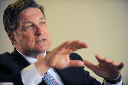 Jeffrey Lacker, president of the Federal Reserve Bank of Richmond, speaks during an interview.