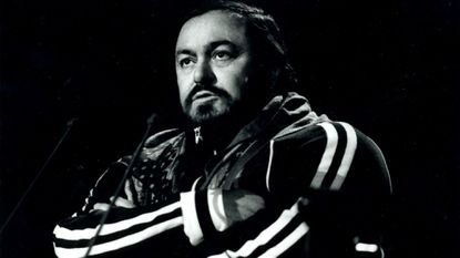 When Pavarotti brought his larger-than-life voice to Baltimore