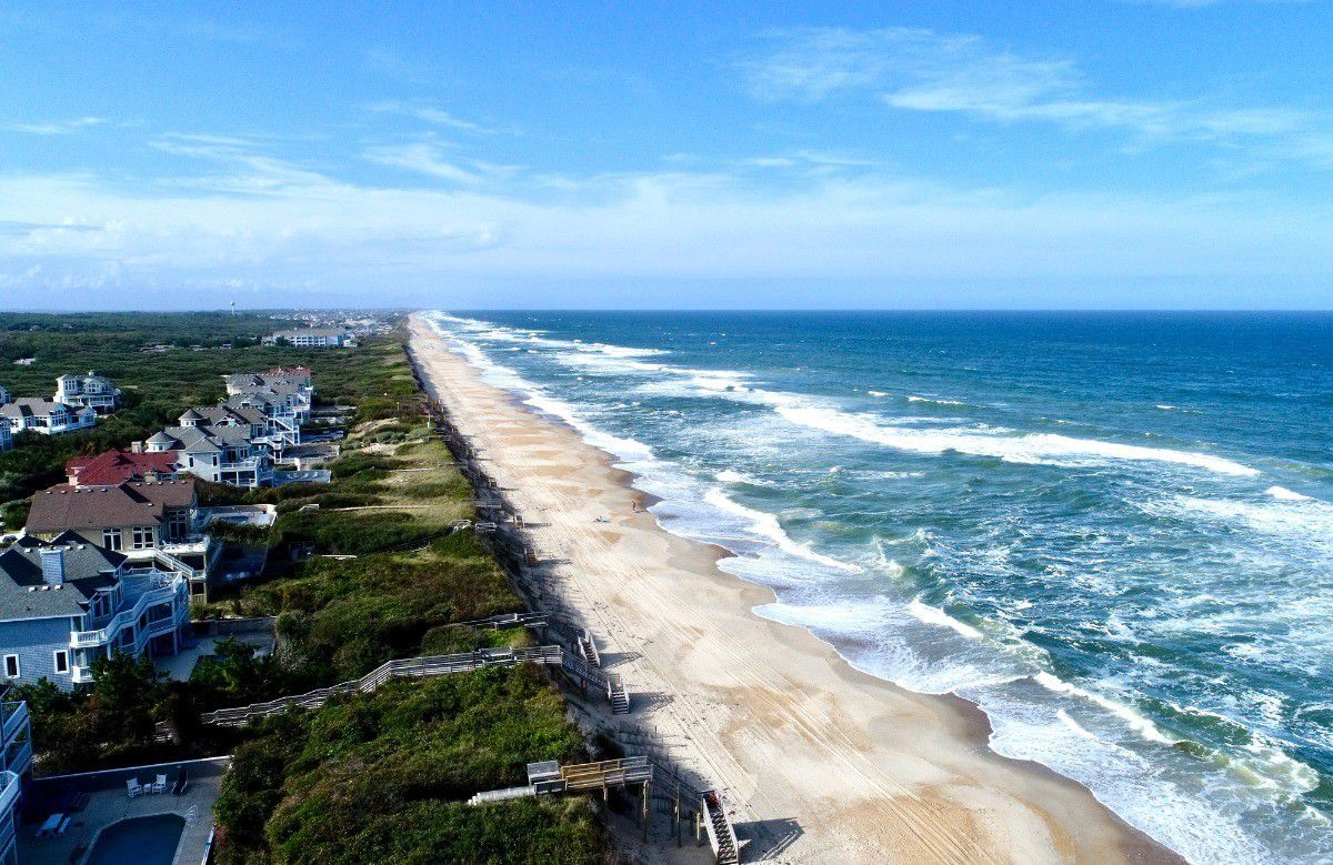 The Outer Banks Offers More Than 100 Miles Of Beach To Vacationers Looking To Social Distance Baltimore Sun