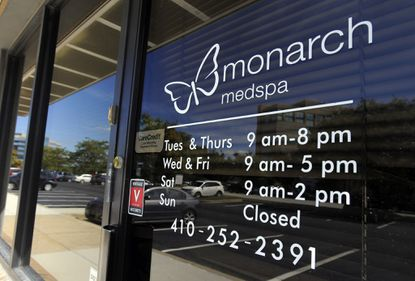 Monarch Medspa surgery center in Timonium has been closed pending an investigation into invasive strep infections, including one death.