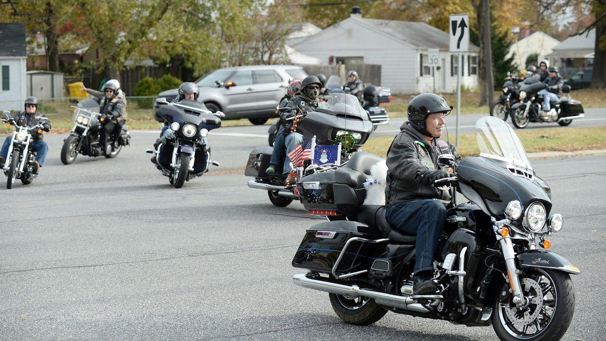Motorcycle Riding Between Lanes