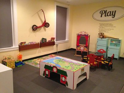 The play area at Play Cafe Baltimore