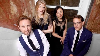 The Doric Quartet will perform at 7 p.m. Saturday Feb. 23, in the Smith Theatre at Howard Community College, 10901 Little Patuxent Pkwy, Columbia, as part of the Candlelight Concert Society series.