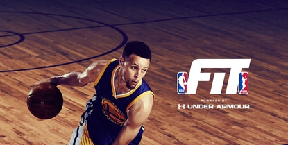 Under Armour and the NBA have partnered for a new basketball and fitness app.