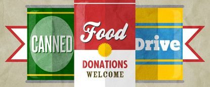 Sunday: Dance My Hunger Away Canned Food Drive with Shawn Smallwood