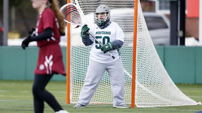Mount Ida goalkeeper Eleanor Garvey, a Francis Scott Key graduate, and her teammates are trying to finish strong in the final season before the school closes at the end of the semester.