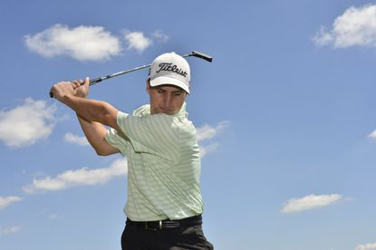 Justin Jarvis, 30, a Rolling Road Club member, is playing in the United States Mid-Amateur golf tournament this week.
