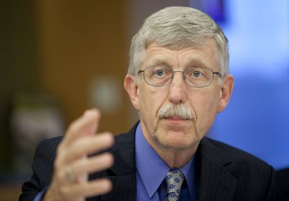 """NIH Director Francis S. Collins said, """"This program will test new models of training and mentoring so that we can ultimately attract the best minds from all groups to biomedical research."""""""