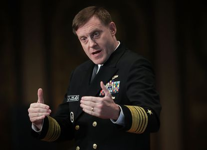 National Security Agency Director Adm. Michael Rogers is commander of U.S. Cyber Command.