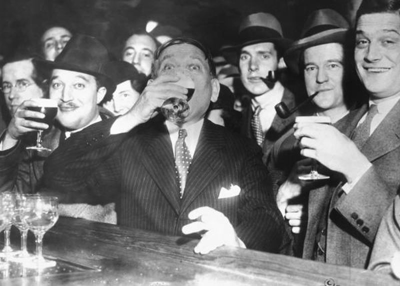 Mencken on April 7, 1933 - end of low-alcohol beer - Baltimore Sun Photo
