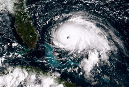 Hurricane Dorian intensifies to Category 5 storm