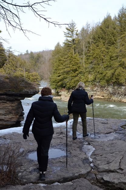 """Twenty Maryland parks offer free, guided """"First Hikes"""" on New Year's Day."""