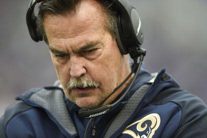 Rams coach Jeff Fisher tells John Harbaugh, Ravens to look in mirror