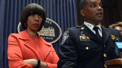 Mayor Catherine E. Pugh opposes proposed state legislation that would establish an independent commission to investigation corruption in the Baltimore Police Department, saying commissioner Darryl De Sousa is working on establishing his own panel.