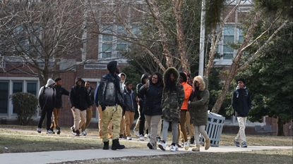 On Jan. 3, students were dismissed early from Frederick Douglass High School because of cold.
