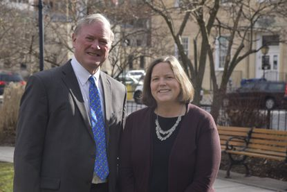 State Sen. Chris West, a Republican, and Del. Cathi Forbes, a Democrat, represent the Towson area in Annapolis.