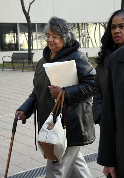 Delegate Cheryl Glenn arrives at the U.S. District courthouse to face federal corruption charges. January 22, 2020