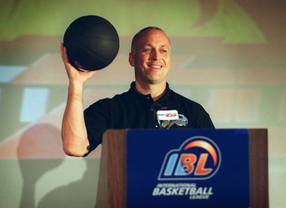 Cal Ripken Jr. announced in 1999 that he became part of the ownership group of the Baltimore BayRunners of the International Basketball League.
