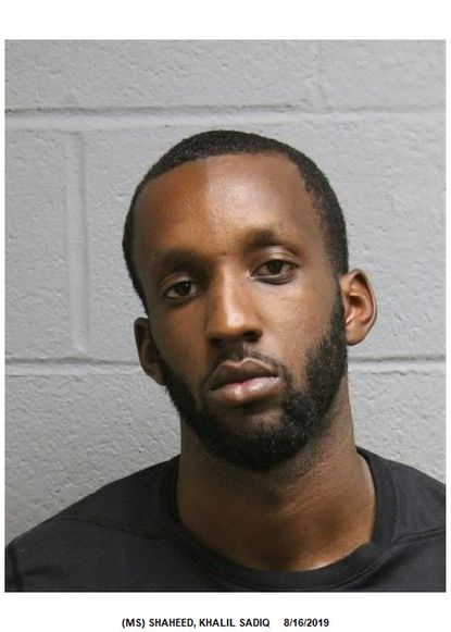 Khalil S. Shaheed, 26, of Baltimore, has been indicted by a federal grand jury for allegedly distributing fentanyl that led to a person's death in Harford County in 2017.