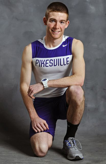 Boys Indoor Track Performer of the Year: Maury Sall, Pikesville, junior