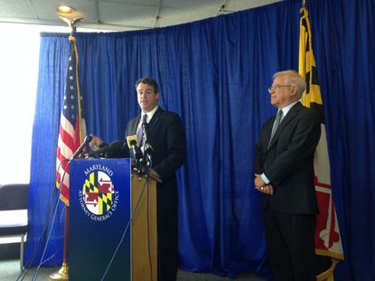 Maryland Attorney General Douglas F. Gansler discusses a brief from his office recommending death row inmate Jody Lee Miles instead receive life without the possibility of parole.