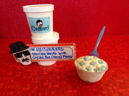 Meet The Heisenberg, a tribute in ice cream to 'Breaking Bad'