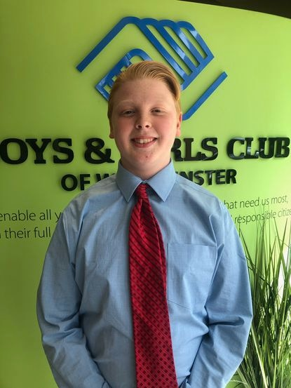 New Windsor's Steven Zbignewich, a sophomore at Westminster High School, is the 2020 Maryland Youth of the Year for the Boys & Girls Club of America.