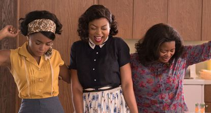 """""""Hidden Figures,"""" a crowd-pleasing time capsule filled with great performances and black love—and um, Kevin Costner personally ending racism"""