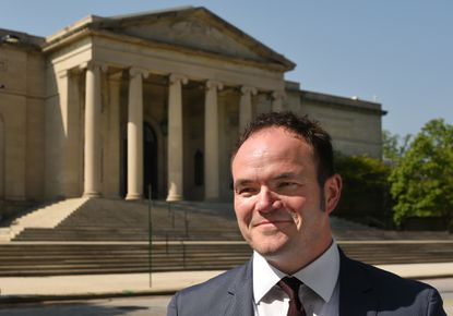 Christopher Bedford has been named the new director of the Baltimore Museum of Art. He comes to the BMA from the Rose Art Museum at Brandeis University.