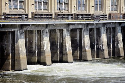 The sediment buildup behind the Conowingo Dam was the subject of a federal-state study.