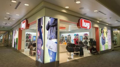 The Lug store on Concourse D at BWI Marshall Airport.