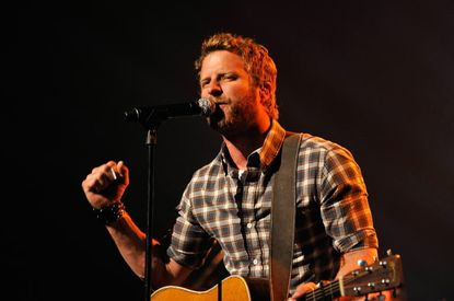 Dierks Bentley in concert in April in California