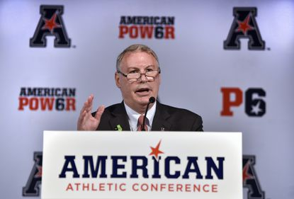 American commissioner paints positive picture during state of conference address