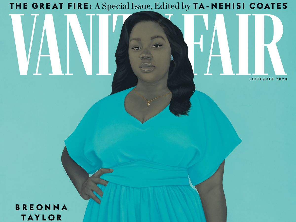 Baltimore Artist Amy Sherald Paints Breonna Taylor Portrait For Vanity Fair Cover Baltimore Sun